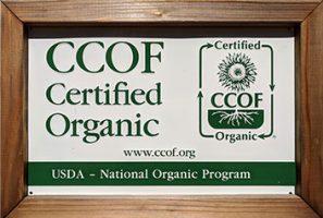 California Certified Organic Farmers sign